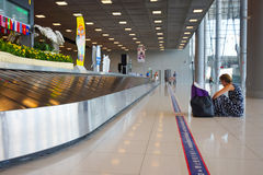 Suvarnabhumi Airport baggage claim area Royalty Free Stock Photography