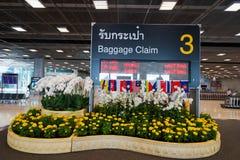Suvarnabhumi Airport baggage claim area Royalty Free Stock Image