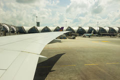 Suvarnabhumi Flughafen Stockfotografie