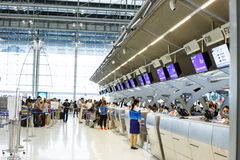 Suvarnabhumi International Airport Stock Photo