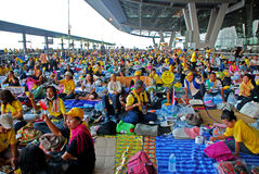 Suvarnabhumi internationaler Flughafen Lizenzfreie Stockfotos