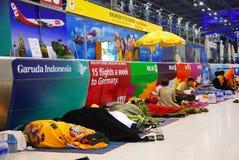 Suvarnabhumi internationaler Flughafen Stockfotografie