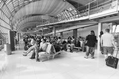 Suvarnabhumi lotniska wnętrze Zdjęcie Stock