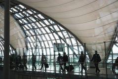 Suvarnabhumi lotnisko Obraz Stock