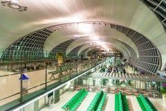 Suvarnabhumi ou aéroport de Bangkok, Thaïlande Photo libre de droits