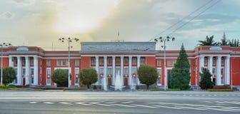 Suverän enhet av Tadzjikistan Tadzjikistan Dushanbe Fotografering för Bildbyråer