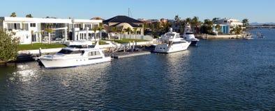 Suveräna öar Gold Coast Queensland Australien Arkivfoton