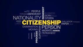 Suveränitet för flyttning för man för pass för invånare för medborgarskappersonnationalitet utomlands bearbetar applicerar det li stock illustrationer