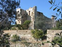 Suvereto - La Rocca Aldobrandesca Stock Photography