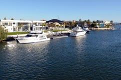 Suveräna öar Gold Coast Queensland Australien Arkivbilder