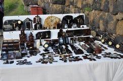 Suvinir da obsidiana em Armênia Lago Sevan Fotografia de Stock Royalty Free