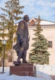 Suvorov monument in Ulyanovsk Royalty Free Stock Photography