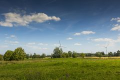 Suwalki Landscape Park in Poland. Royalty Free Stock Photos