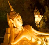 Suwan Kuha Temple (Wat Tam) in Phang-Nga Royalty Free Stock Photo