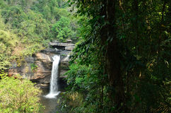 Suwat waterfall bellow Stock Image