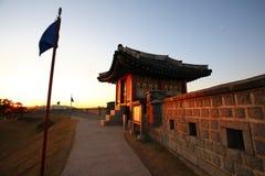 Suwon-Festung lizenzfreie stockfotos