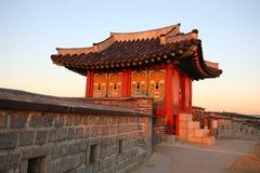 Suwon-Festung Stockbild
