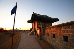 Suwon Fortress Royalty Free Stock Photos