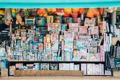 Toy store shopping mall in Korea. Suwon, Korea - July 20, 2016 : Toy store shopping mall Stock Photos