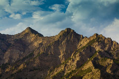 Suyukou mountain ningxia china Stock Images