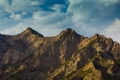 Suyukou mountain ningxia china Stock Images