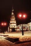 Suyumbike tower. In the Kazan Kremlin Royalty Free Stock Photo
