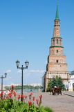 Suyumbike tower in the Kazan Kremlin. Russia Stock Photography