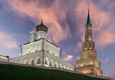 Suyumbike-Turm Kasan-Stadt, Russland Stockbild