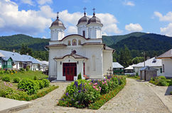 Suzana. Orthodox monastery in Prahova region near Bucharest in Romania Royalty Free Stock Images