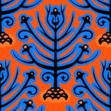 Suzani,  ethnic pattern with Kazakh motifs Royalty Free Stock Photography