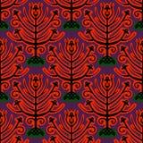 Suzani,  ethnic pattern with Kazakh motifs Stock Photos
