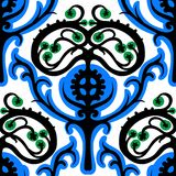 Suzani,  ethnic pattern with Kazakh motifs Royalty Free Stock Image