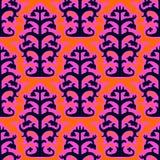 Suzani,  ethnic pattern with Uzbek motifs Royalty Free Stock Images