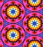 Suzani pattern stock illustration