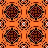 Suzani pattern Royalty Free Stock Photos