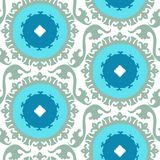Suzani pattern Stock Photo