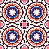 Suzani pattern Royalty Free Stock Images