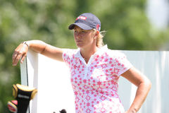 Suzann Pettersen at evian Masters 2007 Stock Photography
