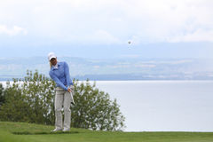 Suzann Pettersenr (NOR) Evian Masters 2011 Royalty Free Stock Photo