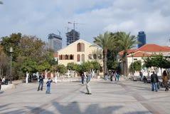 Suzanne Dellal Center i Tel Aviv Arkivfoton