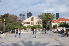 Suzanne Dellal Center in Tel Aviv Stock Photos