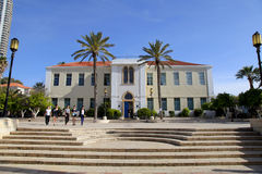 Suzanne Dellal Centre for Dance and Theatre in Neve Tzedek, Tel Stock Images
