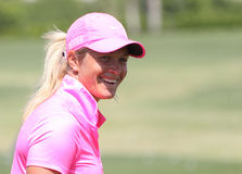 Suzanne Pettersen at the ANA inspiration golf tournament 2015 Stock Image