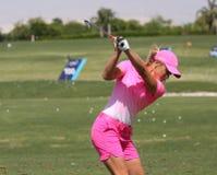 Suzanne Pettersen at the ANA inspiration golf tournament 2015 Stock Photo