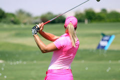 Suzanne Pettersen at the ANA inspiration golf tournament 2015 Royalty Free Stock Photo