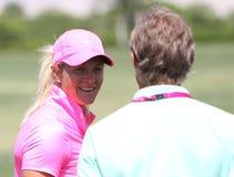 Suzanne Pettersen przy ANA inspiraci golfa turniejem 2015 Zdjęcie Royalty Free