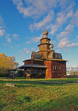 suzdal ξύλινος μουσείων εκκ&lambda Στοκ φωτογραφία με δικαίωμα ελεύθερης χρήσης