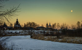 suzdal ξύλινος της Ρωσίας μουσείων αρχιτεκτονικής στοκ φωτογραφία με δικαίωμα ελεύθερης χρήσης