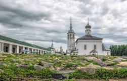 Suzdal, церковь Voskresenskaya Стоковое фото RF