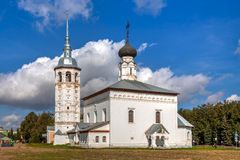 Suzdal. Church of the Resurrection Stock Images